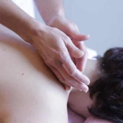 Aromatherapy Back, Neck & Shoulders